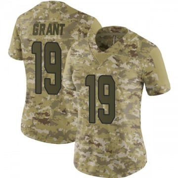 Women's Miami Dolphins Jakeem Grant Camo Limited 2018 Salute to Service Jersey By Nike