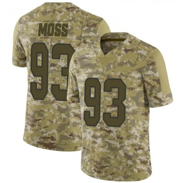 Youth Miami Dolphins Avery Moss Camo Limited 2018 Salute to Service Jersey By Nike