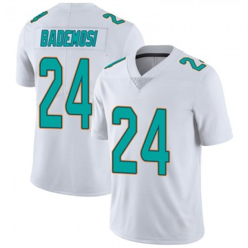 Youth Miami Dolphins Johnson Bademosi White limited Vapor Untouchable Jersey By Nike